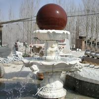 Hand Carved rolling ball water fountain