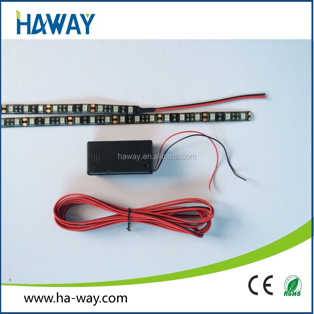 green color strip led 5050 12v for clothes / yacht