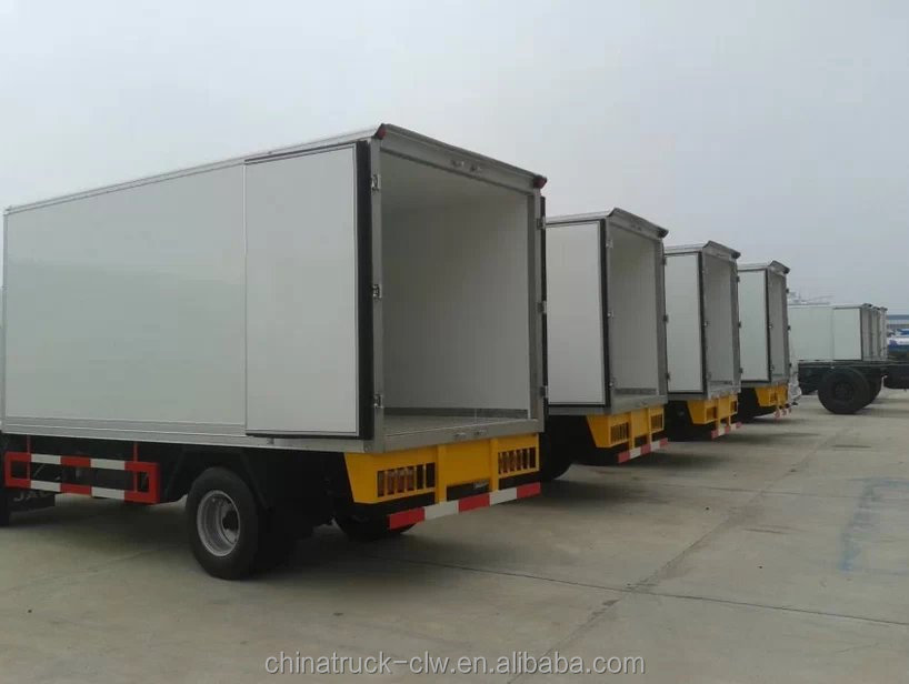 Refrigeration Tanker Truck 5tons Frozen Food Transport For Sale