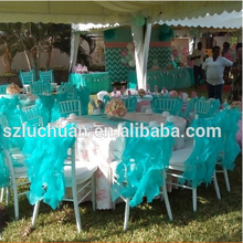 Organza Wedding Decoration Wholesale Cheap Universal Chair Covers