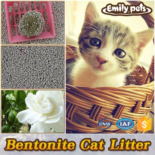 2016 hot selling various scents bentonite all natural kitty sand