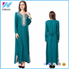 Muslim fashion women Long sleeve abaya 2017 Dubai dress kaftan dubai abaya wholesale