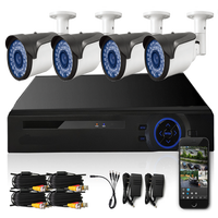 2016 Newest Products full hd 1080p camera dvr video recorder dvr 4CH CCTV DVR Kit set