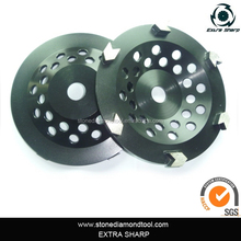 Arrow Shape Grinding Segmented Cup Wheels for Concrete
