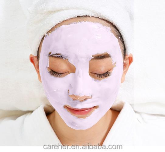 Lavender alginate peel off face mask powder with moisturizing mask