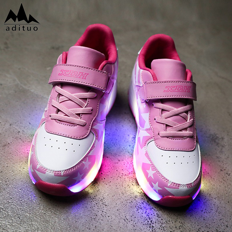 New Style Wholesale Fashion Led Wheel Roller Children Shoes