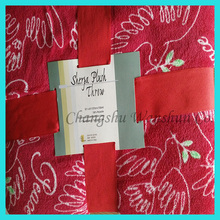 China factory high quality low price customized signature blankets