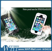 New Fashion Umbrella Water Resistant Cover for iPhone 4/4s/5/5s Plastic Box Waterproof