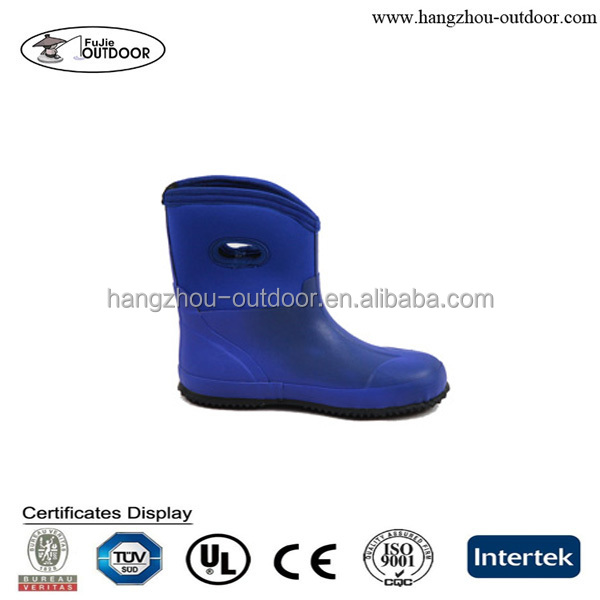 China Supplier Muck Bogs Kids Neoprene Rubber Boots
