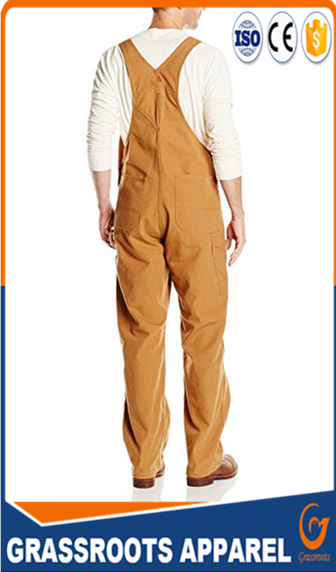factory custom Farm & Pasture mens Workwear Bib Pants cotton/polyester working clothing overall