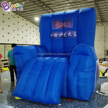 Advertising giant inflatable air sofa/furniture living room sofa luxury for sale