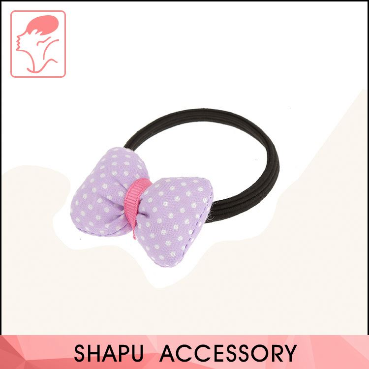 Newest sale lovely style good elastic hair accessories elastic hair tie for kids hair band
