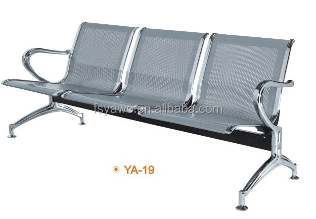 Modern furniture used commercial seat waiting chair airport bench