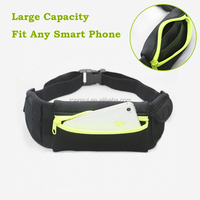 Neoprene waist pack waist bag running bag for exercise