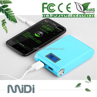 Dual Port USB portable power bank Charger Mobile Phone Charger