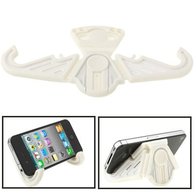 Folding Stand Holder Support for iPhone 3G/3GS/Cell Phone (White)