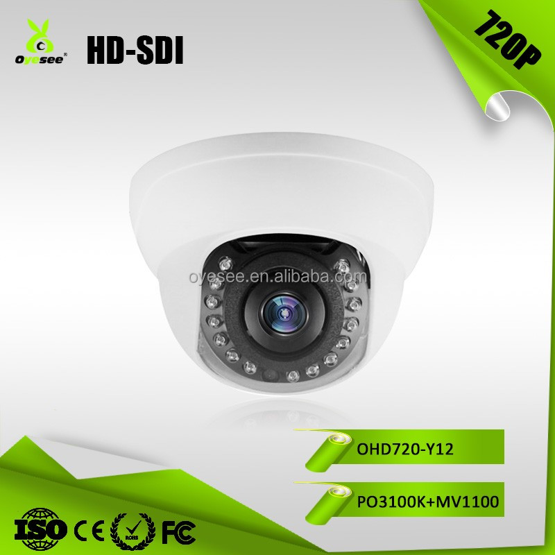 OHD720-Y12 1 Megapixel 720P ACCE WDR/BLC/HLC/D-ZOOM DNR IR Leds 15Pcs IR Distance 12m DNR HD-SDI cctv camera price list in india