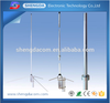 VHF/UHF 135-180MHz/430-470MHz wide band dual band adjustable base station antenna with SO239 connector