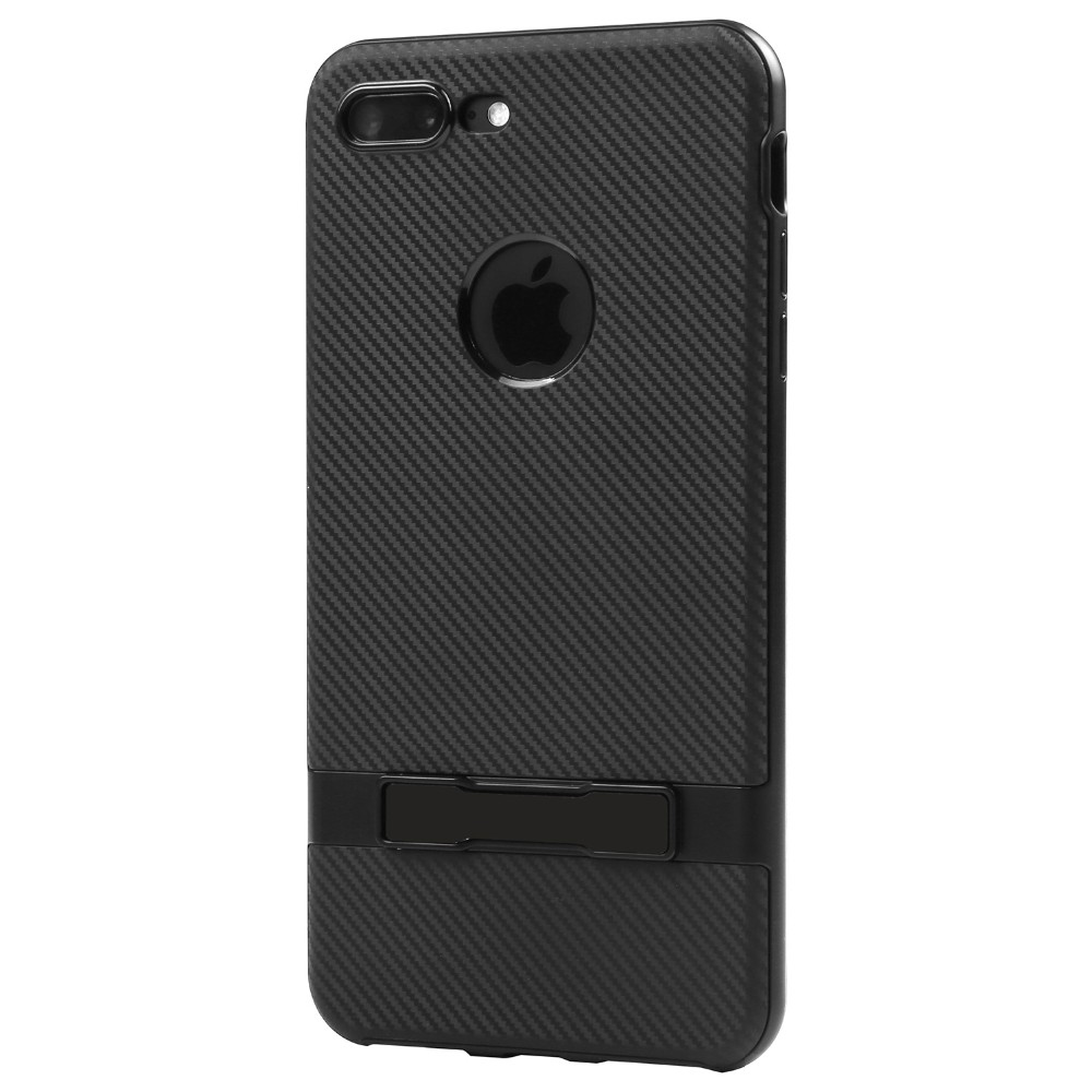 Icheckey Classic Shell Hybrid Defender Case Cover with Kickstand for iPhone 7