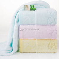Bamboo Fiber Cleaning Cloth/bamboo Terry Towelling Fabric/bathroom Face Towel