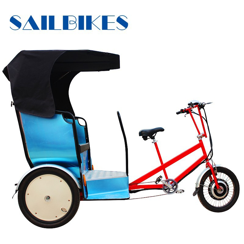 three wheel motorcycle rickshaw /battery rickshaw for passenger