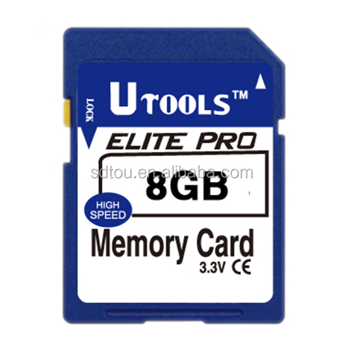 Shenzhen Factory Wholesale Quality 8GB SDHC SD Memory Card for GPS