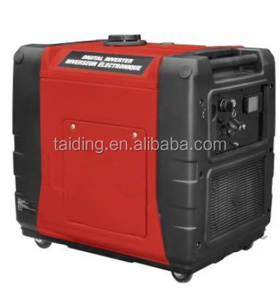 higher output portable 5kw frequency generator by diesel or gasoline