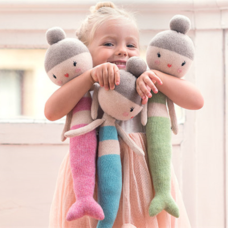 China Supplier Hot Selling Handmade Dolls Yarn Knitted Dolls