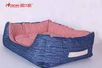 Factory supply attractive price Denim indoor dog bed