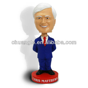 Custom 7.5inch Resin/PVC Bobble Head