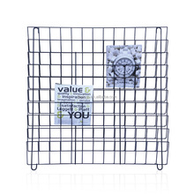 Dubai Wholesale Custom Wrought Iron Commercial Wall Mount Metal Magazine Rack