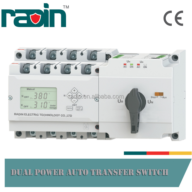 Wholesale Professional 16A-630A Dual Power Auto Transfer Switch ATS Panel