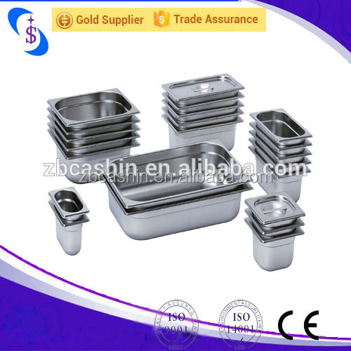 Stainless Steel Regular Food Container 1/2Gn Pan Resturant Equipment Gn