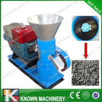 High quality of 100~500 kg/h diesel type coal dust pellet machine / coal pellet machine