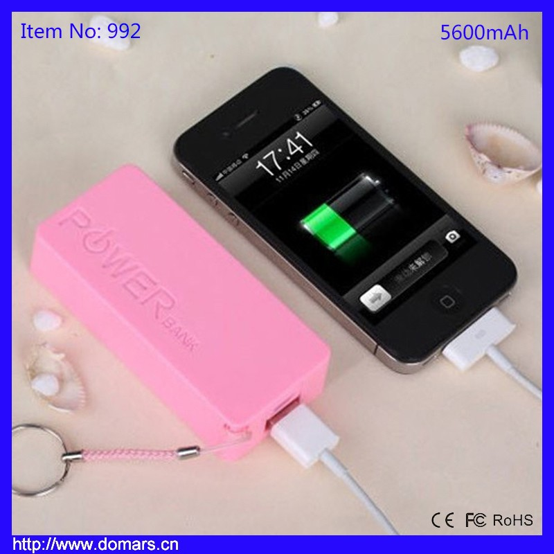 2017 Hot Sale 5600mah Mini Portable Charger Handy Universal Power Bank Phone Accessories