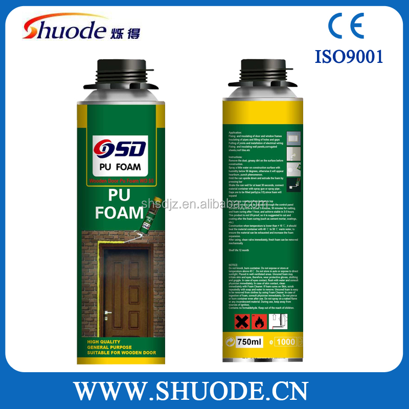 Expanding Spray PU Foam Sealant PU