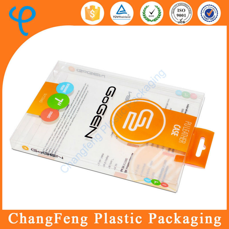 Factory wholesale phone case packaging small hard plastic box