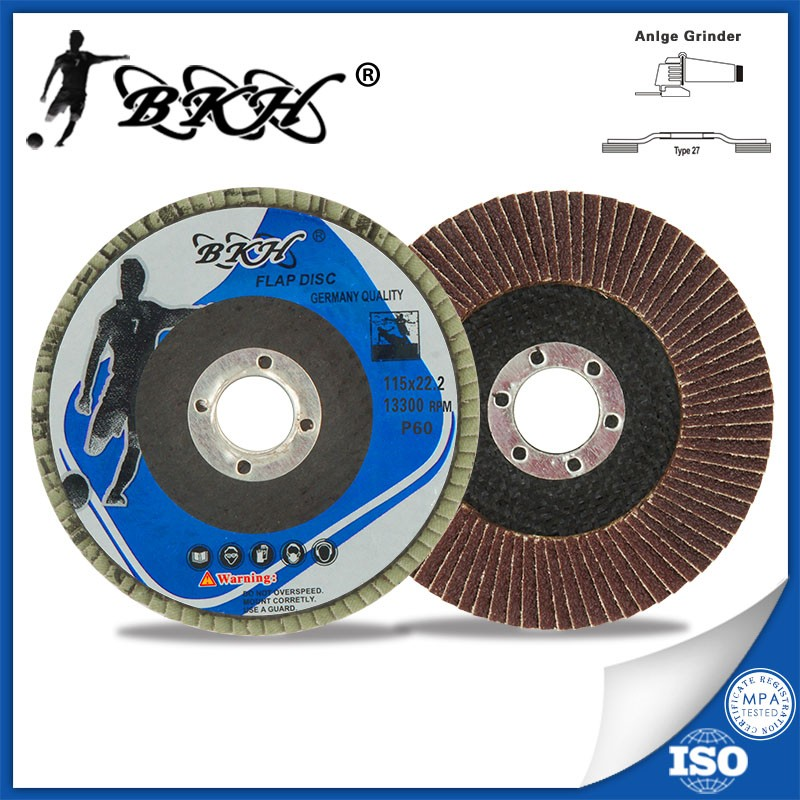 T27 4.5inch Flap Sanding Disc for steel
