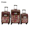 Fashionable Model Online Wholesale Hot Sale Durable PU Fabric Lining High Quality Trolley Travel Bag