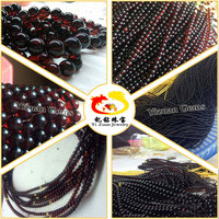 Good Polished red color baltic amber beads natural
