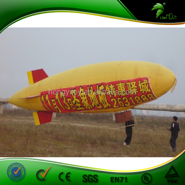 Wholesale Event Outdoor CE/UL certificated pvc custom inflatable rc blimp/inflatable airplane rc