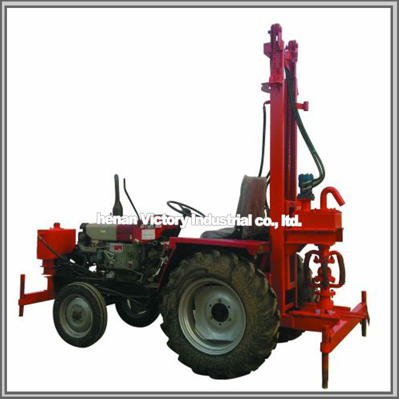 High efficiency hand water well drilling equipment
