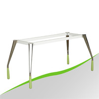 Modern Decorative Steel Tube Office Table