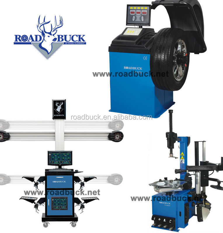 Roadbuck Garage equipments 3d wheel alignment R600,tire change, car lift