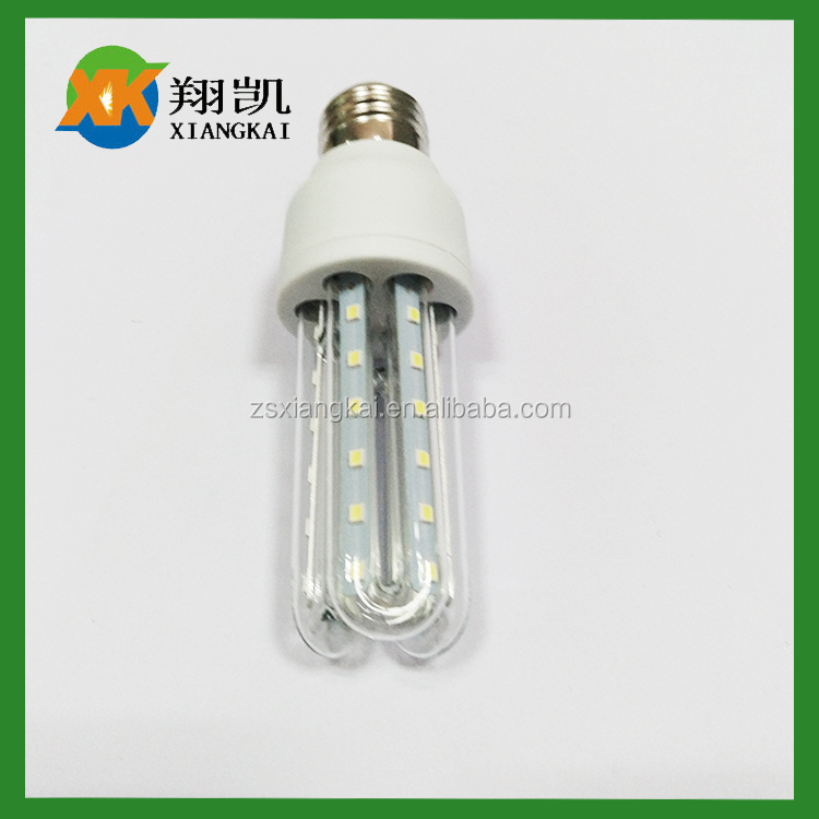 7w led 360 degree 3 u shape innovation energy saving lamps best prices and quality manufacturer led lamp form china