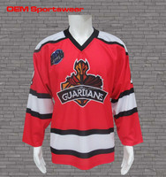 sublimated polyester team canada hockey jersey
