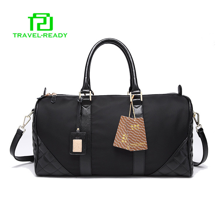 new model best stylish mens black overnight travel bag factory wholesale