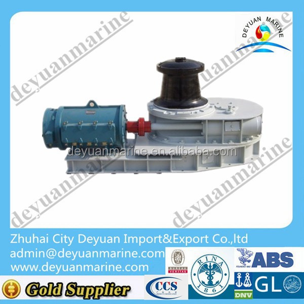 High quality mooring rope boat marine capstan winch electric / hydraulic capstan rope winches for sale