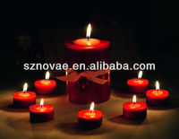 Decorative Candle Wall Picture with LED Light
