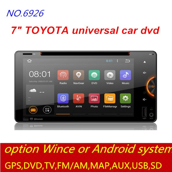 double din car gps player for TOYOTA RAV4 touch screen car radio dvd CD multimedia player navigation BT TV 3G